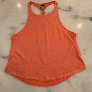 Nike Workout Tank Orange Size L/XL